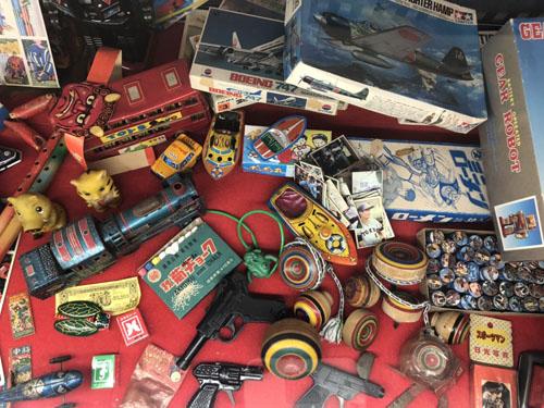 昭和レトロなおもちゃたち