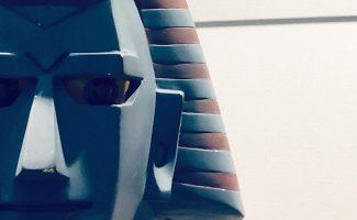 ジャイアントロボでお出迎えCOLTの新しい守り神が昭和レトロ展に登場?!