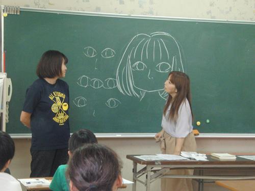 中間小学校マンガ教室