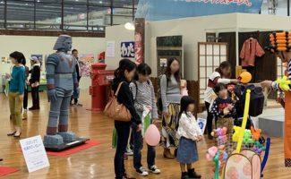 西部ガス展で昭和・平成レトロの展示~懐かしヒーローの名前言える?
