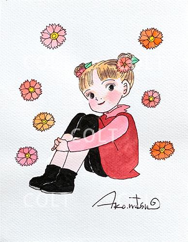 将来の夢 お花屋さん